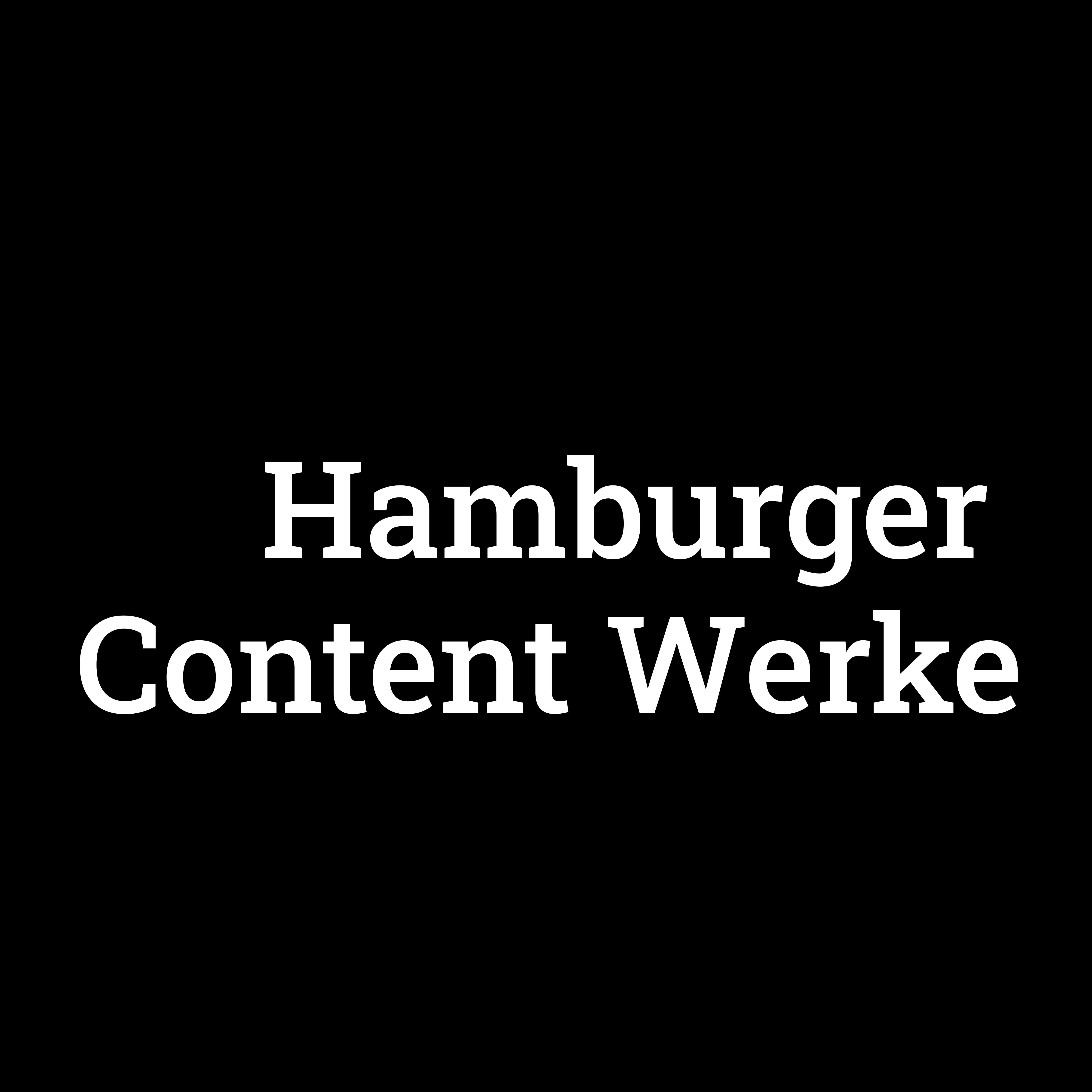 Hamburger Content Werke